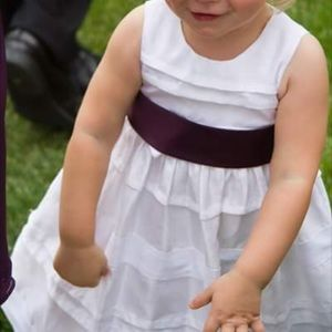 Other - 18mos white dress with bow tie waist